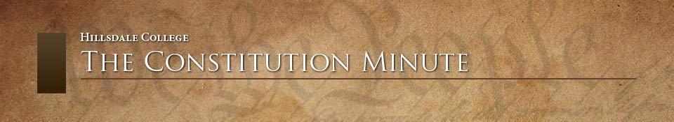 Constitution Minute